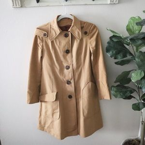 Vintage union made trench coat